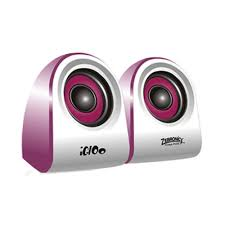 amazon in buy zebronics igloo 2 0 multimedia speaker purple