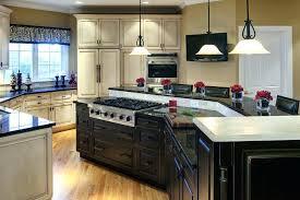 stove on kitchen island kitchen island with stove top and stove in an island kitchen
