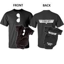 maverick goose father son t shirt set father u0027s day gift ideas