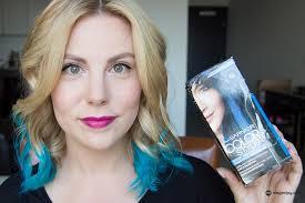 reviews from hair burst video garnier color styler in blue burst megan joy