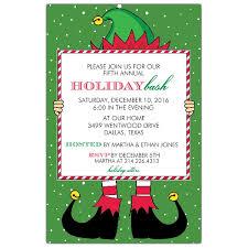 elf holiday bash invitations kids niños pinterest elves
