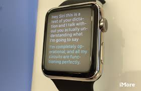 here u0027s everything siri can do on your apple watch imore