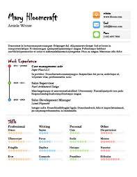 Free Infographic Resume Templates 17 Infographic Resume Templates Free Download