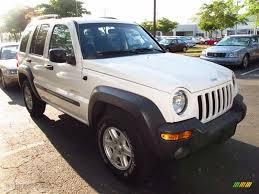 jeep liberty white 2004 stone white jeep liberty sport 4x4 63671089 gtcarlot com