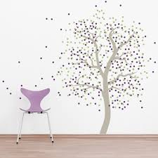 confetti tree wall decal