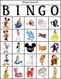 Printable Halloween Bingo by Bingo De Personajes Disney Para Imprimir Gratis Disney Trip