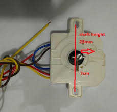 3 wires 15 mintues washing machine timer with double ears install
