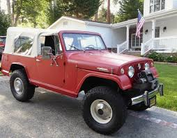 1967 jeep commando mostly stock lifted 1967 jeepster commando bring a trailer