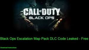 Cod Black Ops Maps Cod Black Ops Escalation Map Pack 2 Free Code Download Video