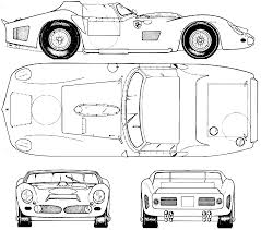 car ferrari drawing ferrari 330 p lm blueprint racing car blueprint pinterest
