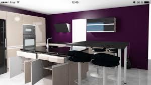 Modele Cuisine Petite Surface by Cuisine Star Jet Cuisinella Notre Maison Amethyste 110 Gi Ph Par