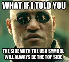What Is An Meme - usb matrix morpheus know your meme