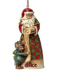 jim shore santa with toys collectible ornament christmas
