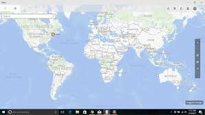 Images World Map by Windows 10 Maps And Mail Computerworld