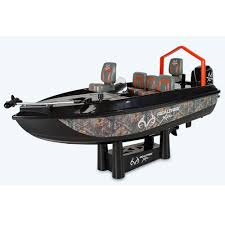 fish catching rc boat allows you to fish remotely