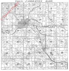 Plat Maps 1924 Fairbanks Township Shawano County Plat Map