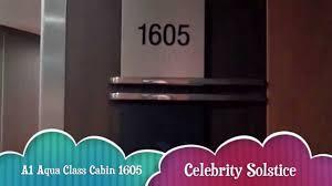 Celebrity Solstice Floor Plan Celebrity Solstice Aqua Class Cabin 1605 October 2013 Youtube
