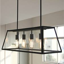 Industrial Glass Pendant Lights Vintage Pendant Light Industrial Edison L American Style Clear