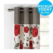 argos floral curtains u0026 pelmets ebay