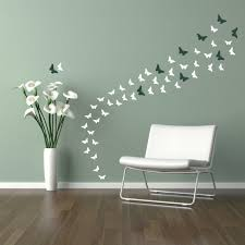 Circle Wall Decals Ideas For by 20 Best Collection Of Butterflies Wall Art Stickers Wall Art Ideas