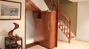interior fascinating libaray room design with white hidden door