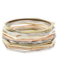 set bracelet images Aubrey bangle bracelets set in mixed metals kendra scott jpg