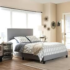 light grey upholstered bed upholstered bed queen size frame light grey bikas info