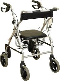 Transport Walker Chair Combined Rollators And Transport Chair