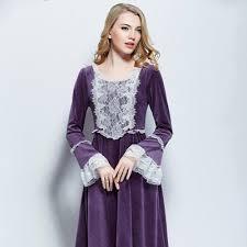 robe de chambre femme velours femmes velours col rond dentelle poitrine chemise de nuit femme