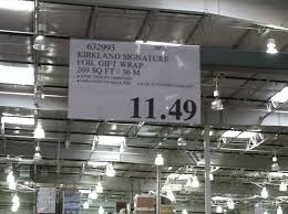 kirkland wrapping paper 8 non food items you should buy at costco save money live joyfully