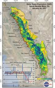 colorado snowpack map recent storms recouped 37 percent of california s five year