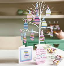 easter egg tree decorations easter decorations crafty decoration ideas for laying the table