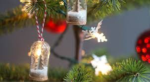 diy mini snow globe ornaments 100 days of