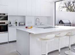 Kitchen Worktop Ideas White Kitchens With The Wow Factor The Room Edit