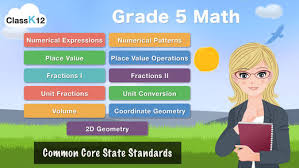 grade 5 math common core learning worksheets game on the app store