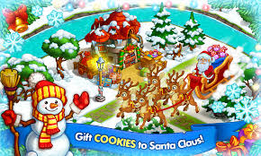 happy new year farm christmas mod money gudang game android