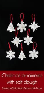 how to make ornament with salt dough a bigger