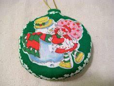 strawberry shortcake nib ornament 2005 scented