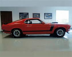 Black Mustang Boss 302 1970 Ford Mustang Boss 302 Fastback 138206