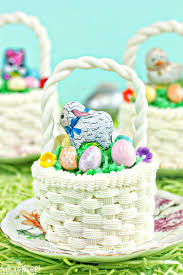 easter basket easter basket cupcakes sugarhero