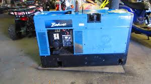 miller bobcat 225 nt engine driven 8000 watt generator welder