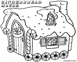 gingerbread house coloring pages coloring pages to download and
