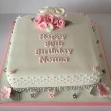 80th birthday cakes pink silver 80th birthday cake
