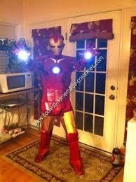 coolest homemade ironman halloween costume