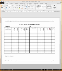 Weekly Expense Report Template Free by 7 Weekly Sales Report Template Expense Report