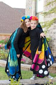 make a large wing butterfly costume make it and love it