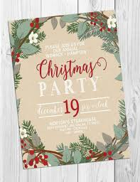 Simple Decoration For Christmas Party by The 25 Best Christmas Party Invitations Ideas On Pinterest