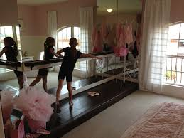 i can t wait to get hannah s barre and mirrors up in her room one basements
