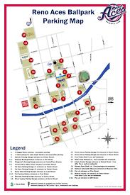 Riverwalk Map Reno Aces Parking Map