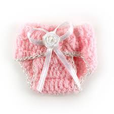 maple craft knit crochet mini baby diaper baby shower party